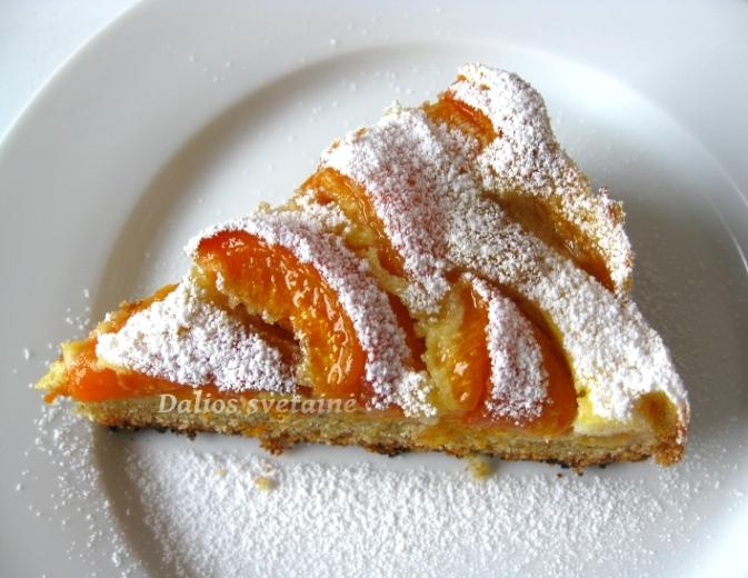Abrikosu pyragas