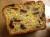 Čederio, spanguolių ir riešutų duona