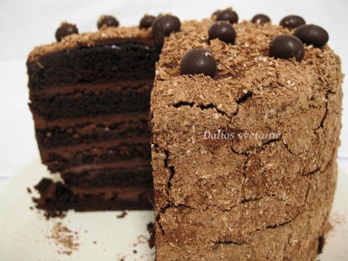 Devil's. Food Cake