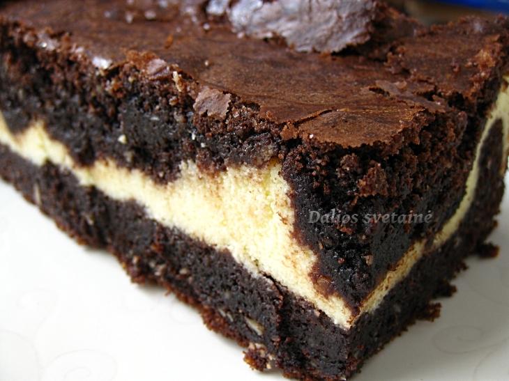 Riesutinis brownie su.varske