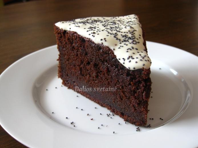 Sokoladinis burokeliu pyragas
