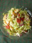 Šviežių kopūstų salotos